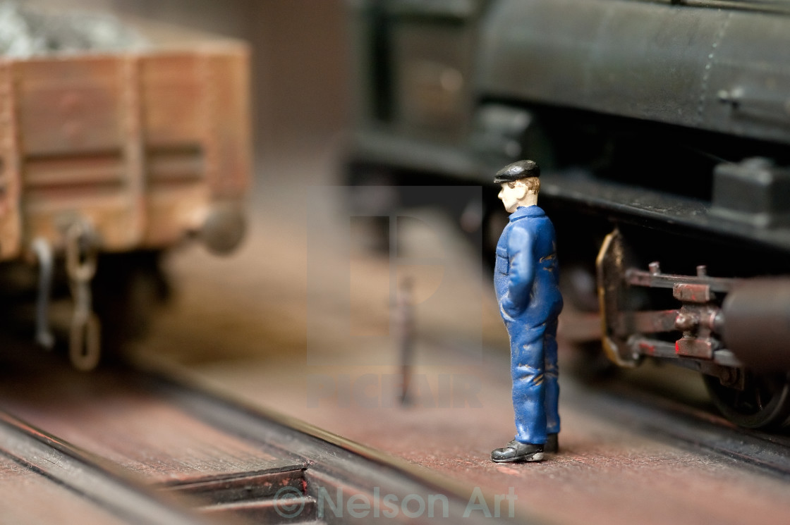 """train engineer"" stock image"