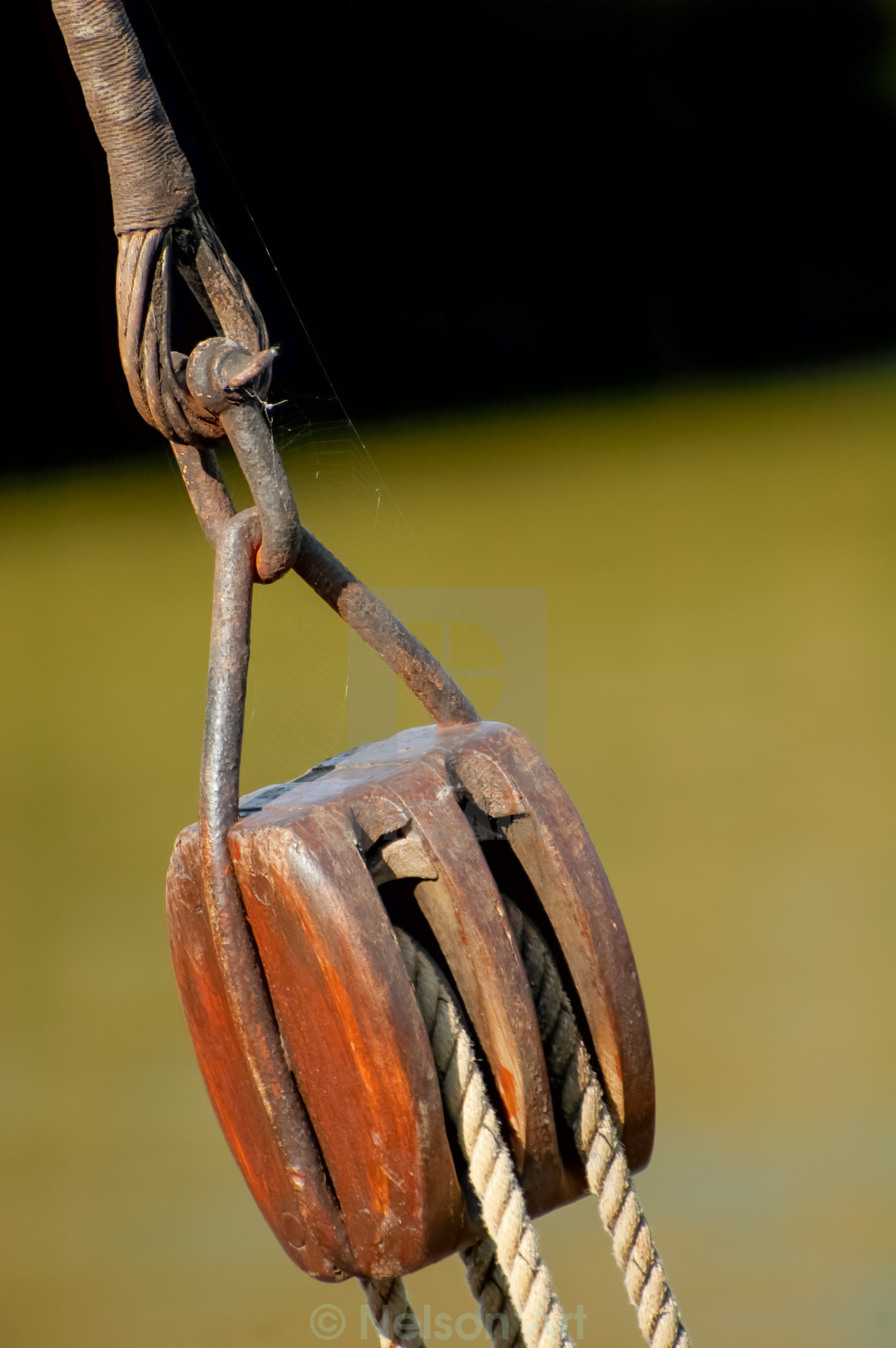 """block and tackle equipment"" stock image"