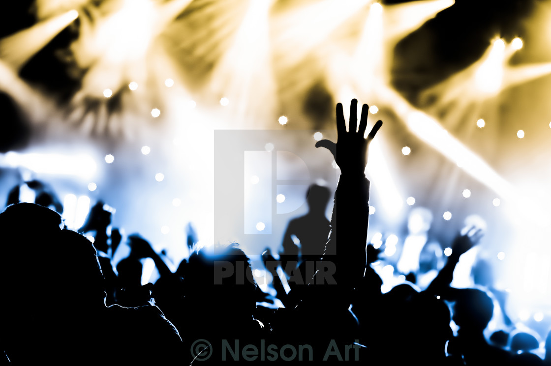"""live concert"" stock image"