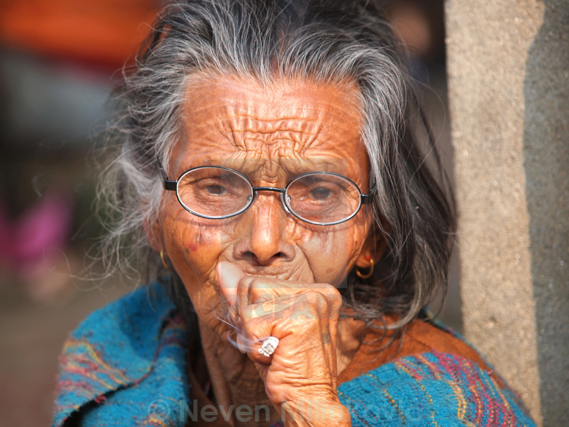 """old woman"" stock image"