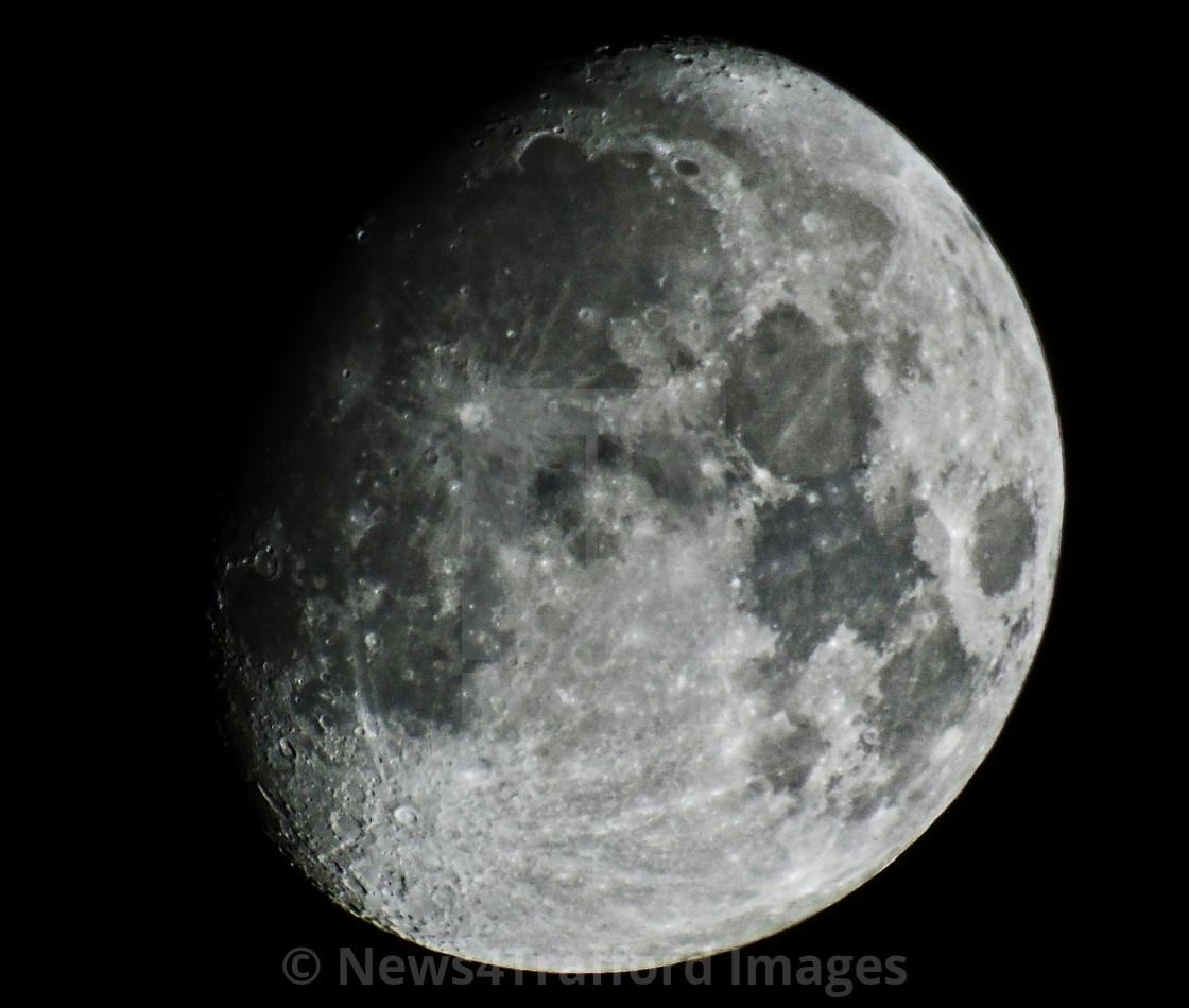 """""""Weekend Moon"""" stock image"""