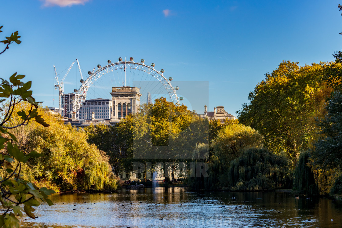 """St. James Park"" stock image"