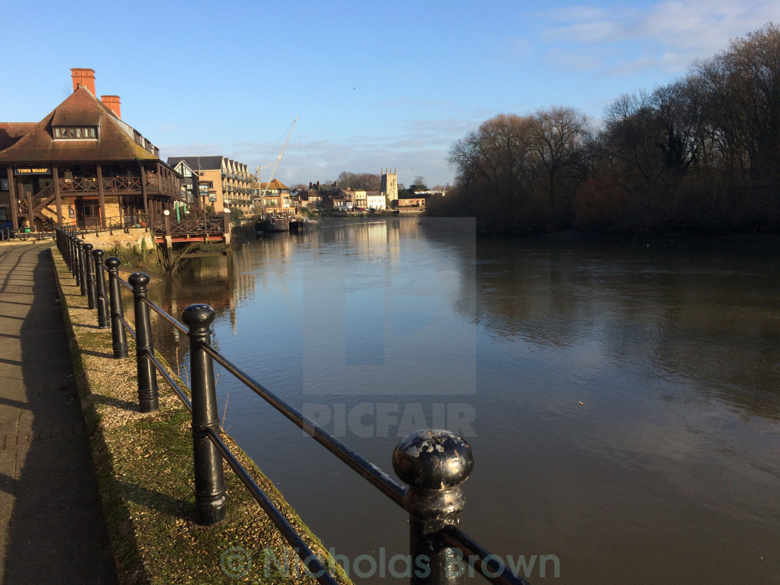 """Good morning Isleworth"" stock image"
