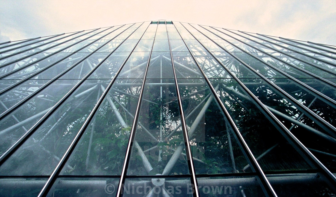 """glasshouse 2"" stock image"