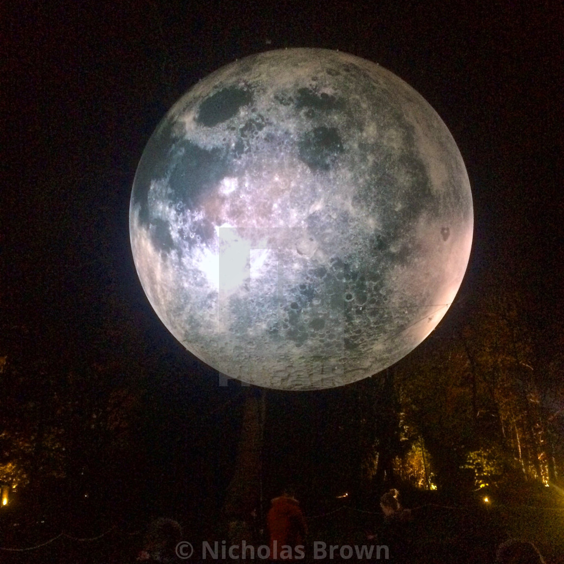 """Chiswick Moon"" stock image"