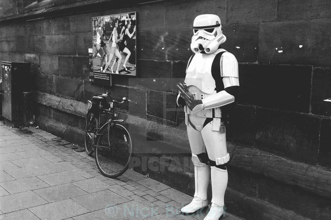 """The York Stormtrooper"" stock image"