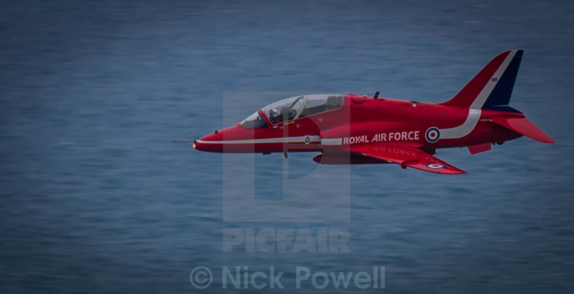 """Hawk T1A - Red Arrows"" stock image"