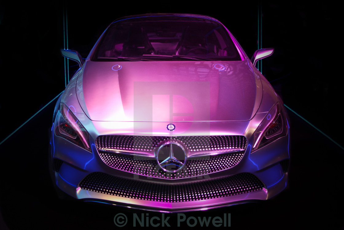"""Mercedes Benz CLA"" stock image"