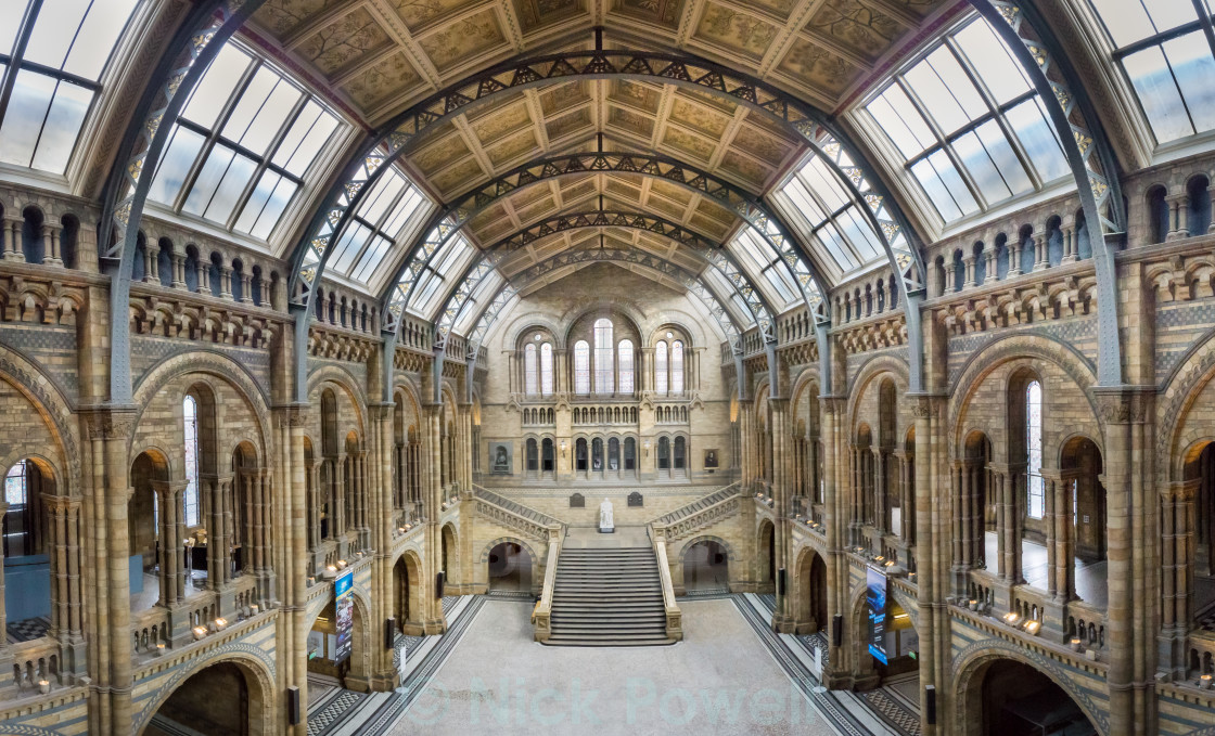 """Natural History Museum - London"" stock image"