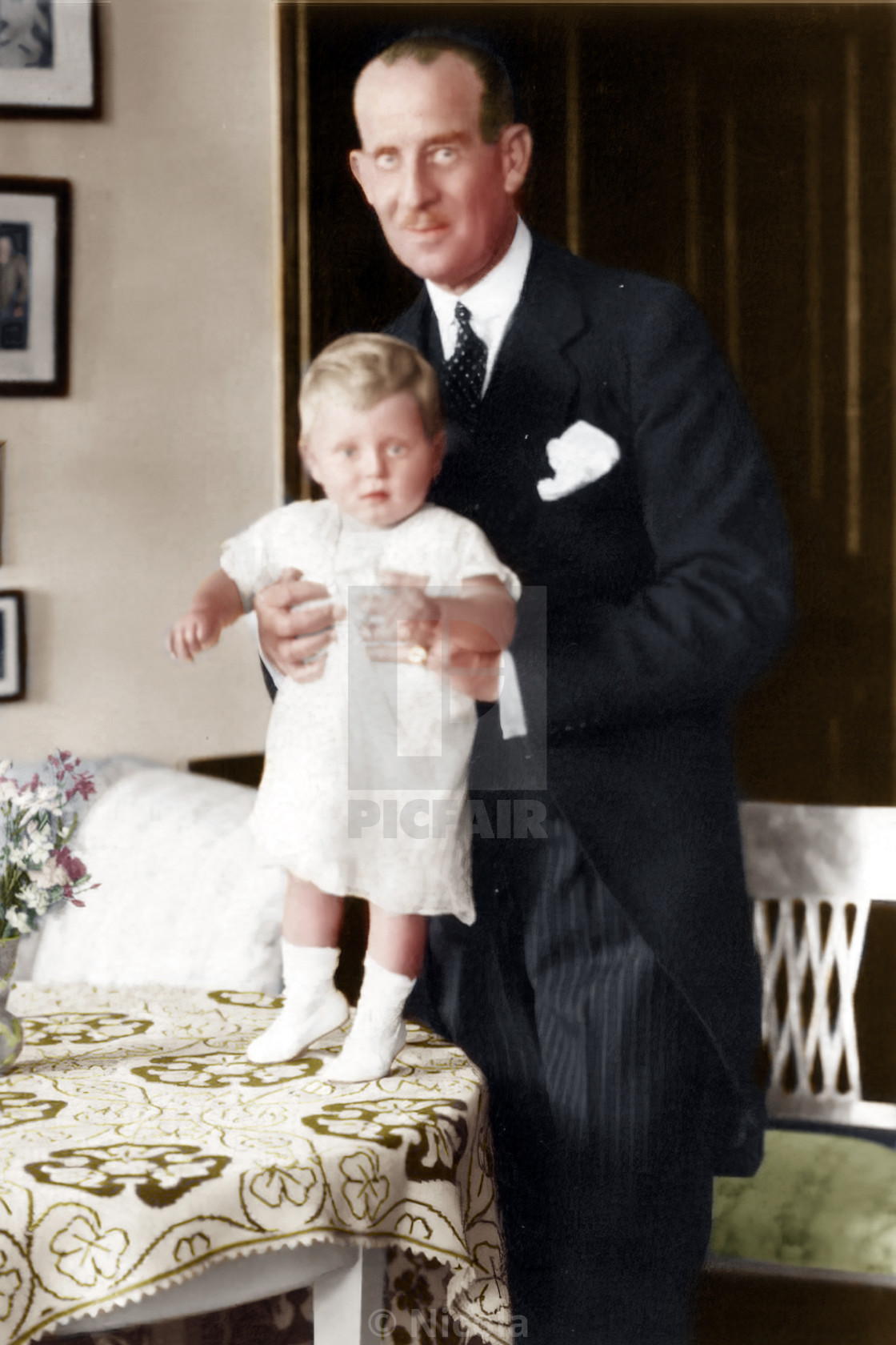 Prince Philip and his father, Prince Andrew of Greece and ...
