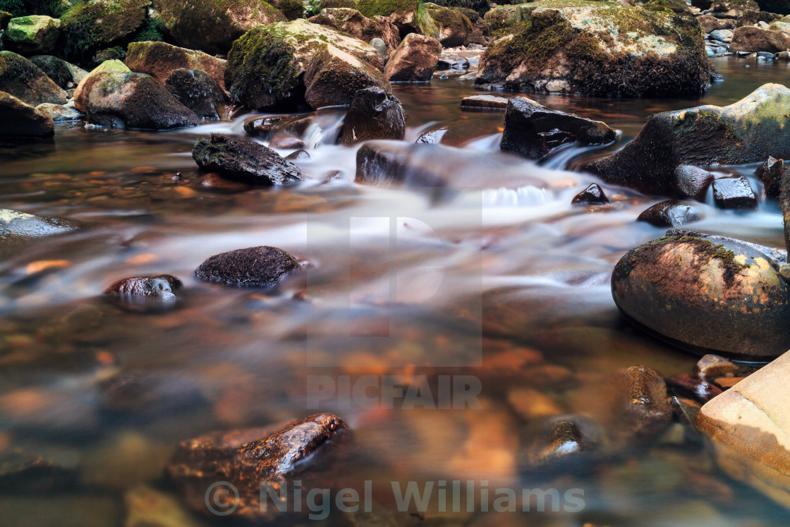 """Rocky River"" stock image"