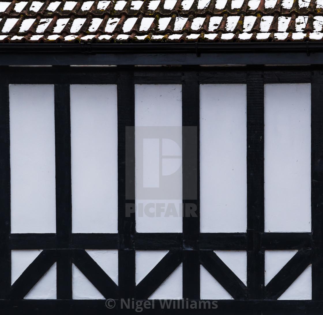 """Tudor Frame"" stock image"