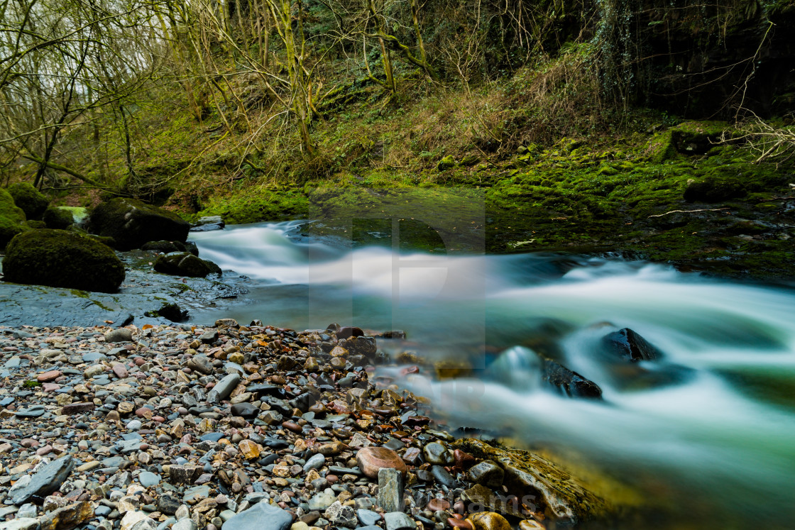 """The River Flows"" stock image"