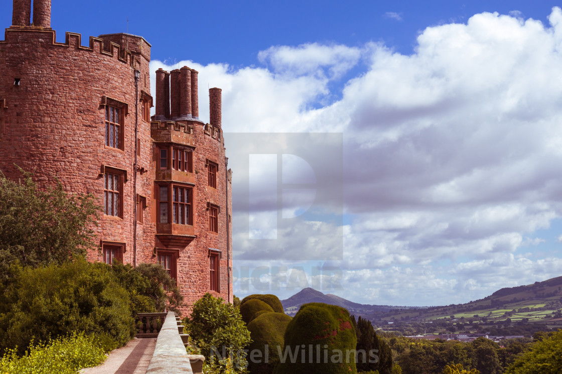 """View from the Castle"" stock image"