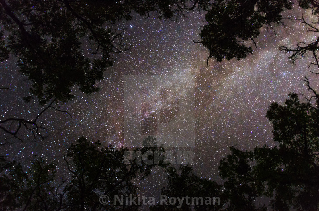 """""""Earth and space at night"""" stock image"""