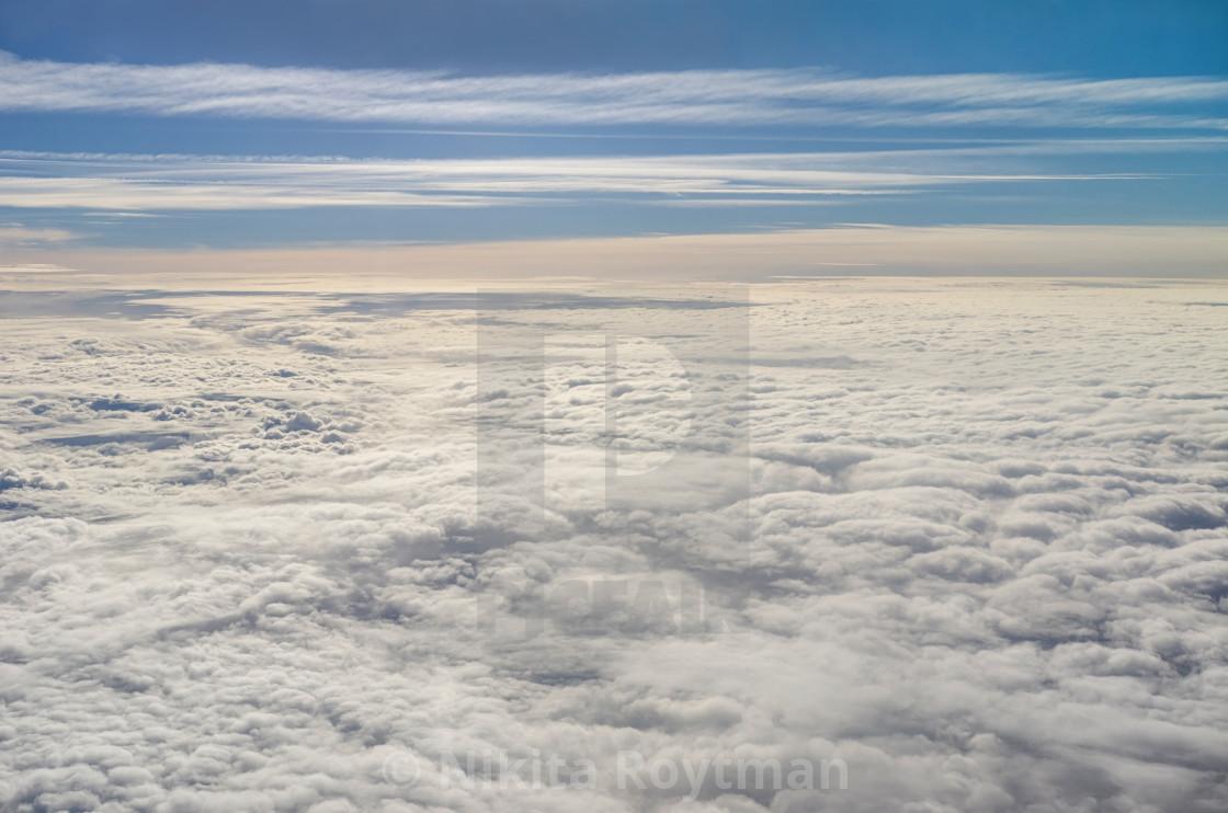"""Vast cloudscape"" stock image"
