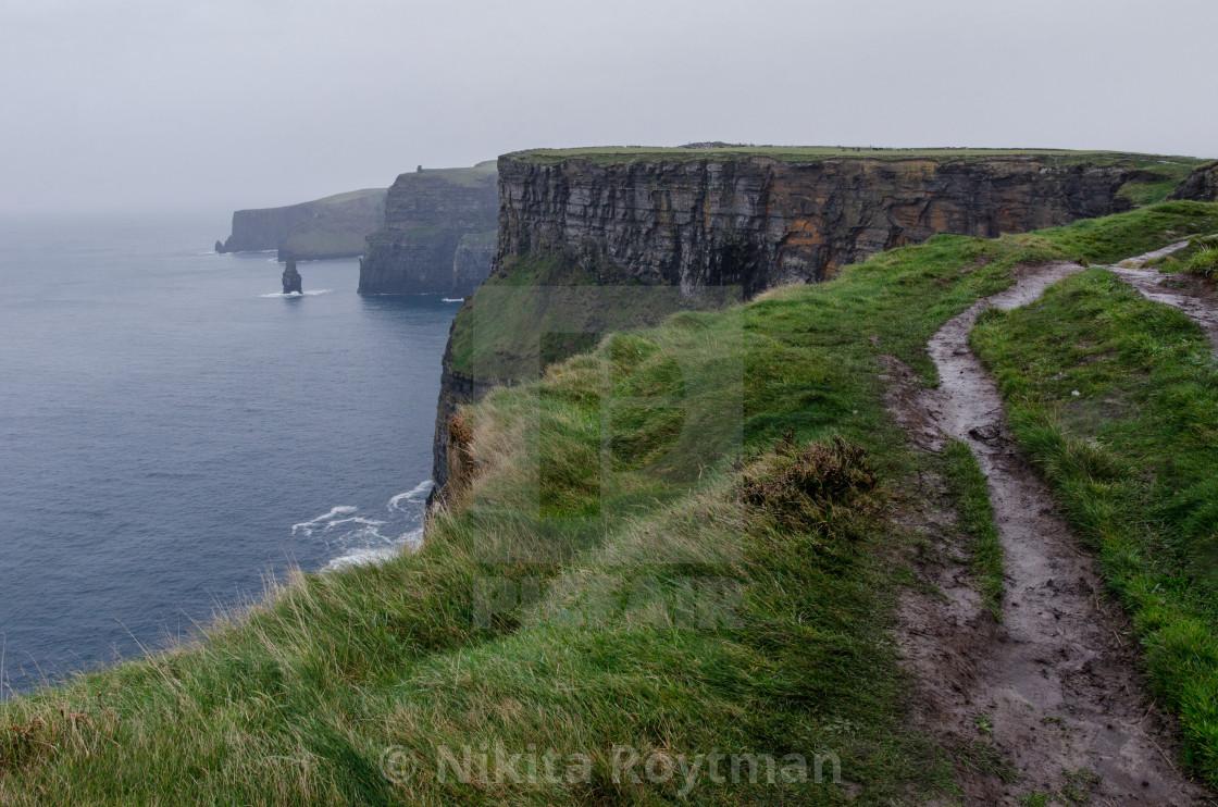"""Walking Atop The Ocean"" stock image"