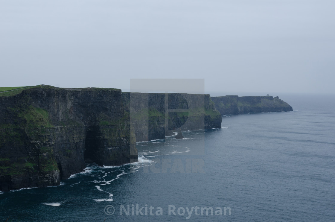 """""""Cliffs of Moher"""" stock image"""