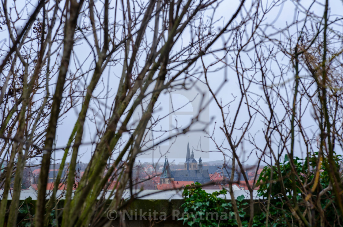 Quedlinburg In Winter