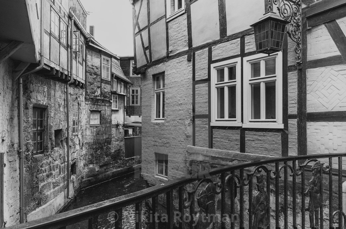 """Old Town Of Quedlinburg In Harz, Germany"" stock image"