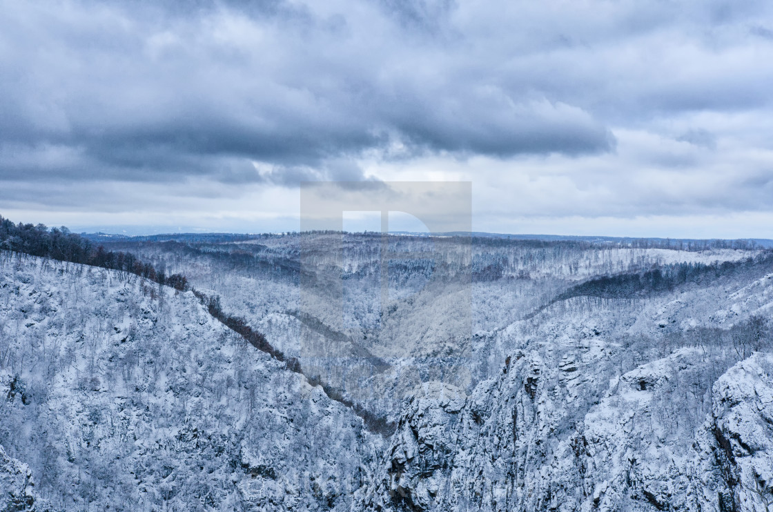 """Harz In Winter Mood"" stock image"