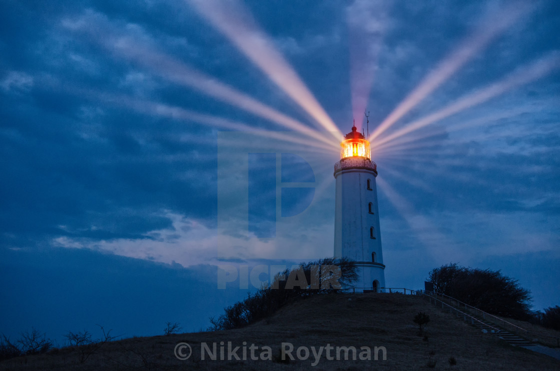 """Light Paths In The Sky"" stock image"