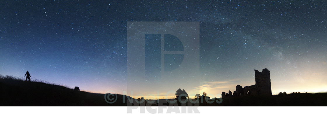 """Milky Way - Gaze"" stock image"
