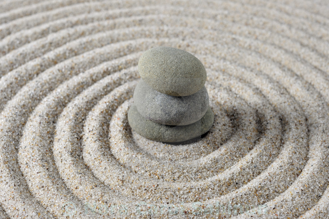 Selective focus of japanese zen garden meditation stones license selective focus of japanese zen garden meditation stones stock image workwithnaturefo