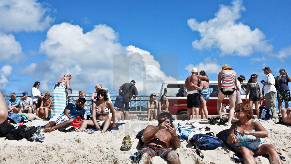 """Airport Beach"" stock image"