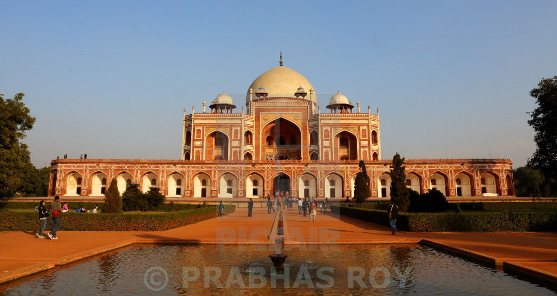 """HUMAYUN'S TOMB,NEW DELHI, INDIA"" stock image"