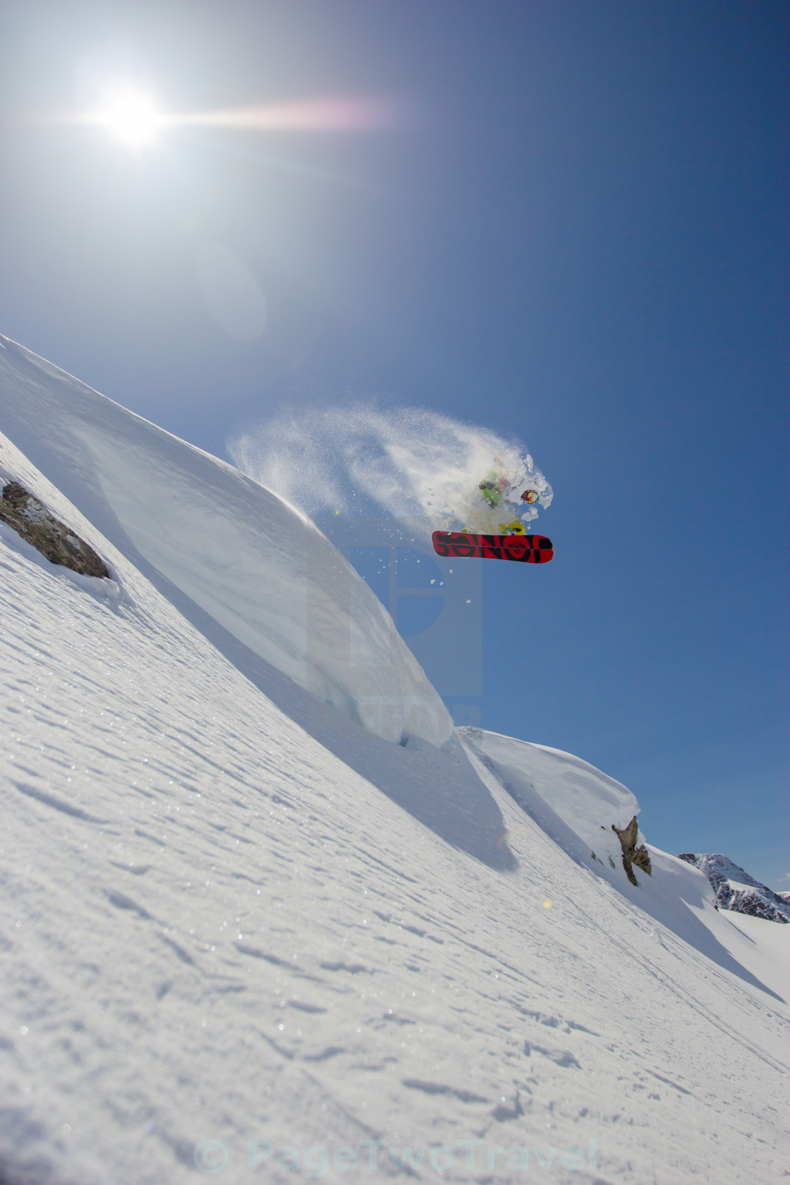 """Snowboard air"" stock image"