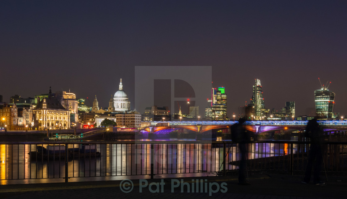 """London Lit Up"" stock image"