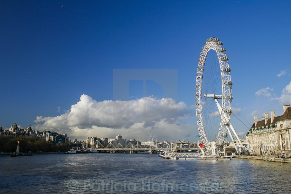 """Eye in London"" stock image"