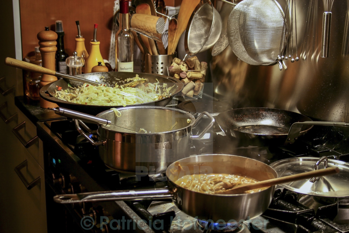 """""""Asian cooking"""" stock image"""