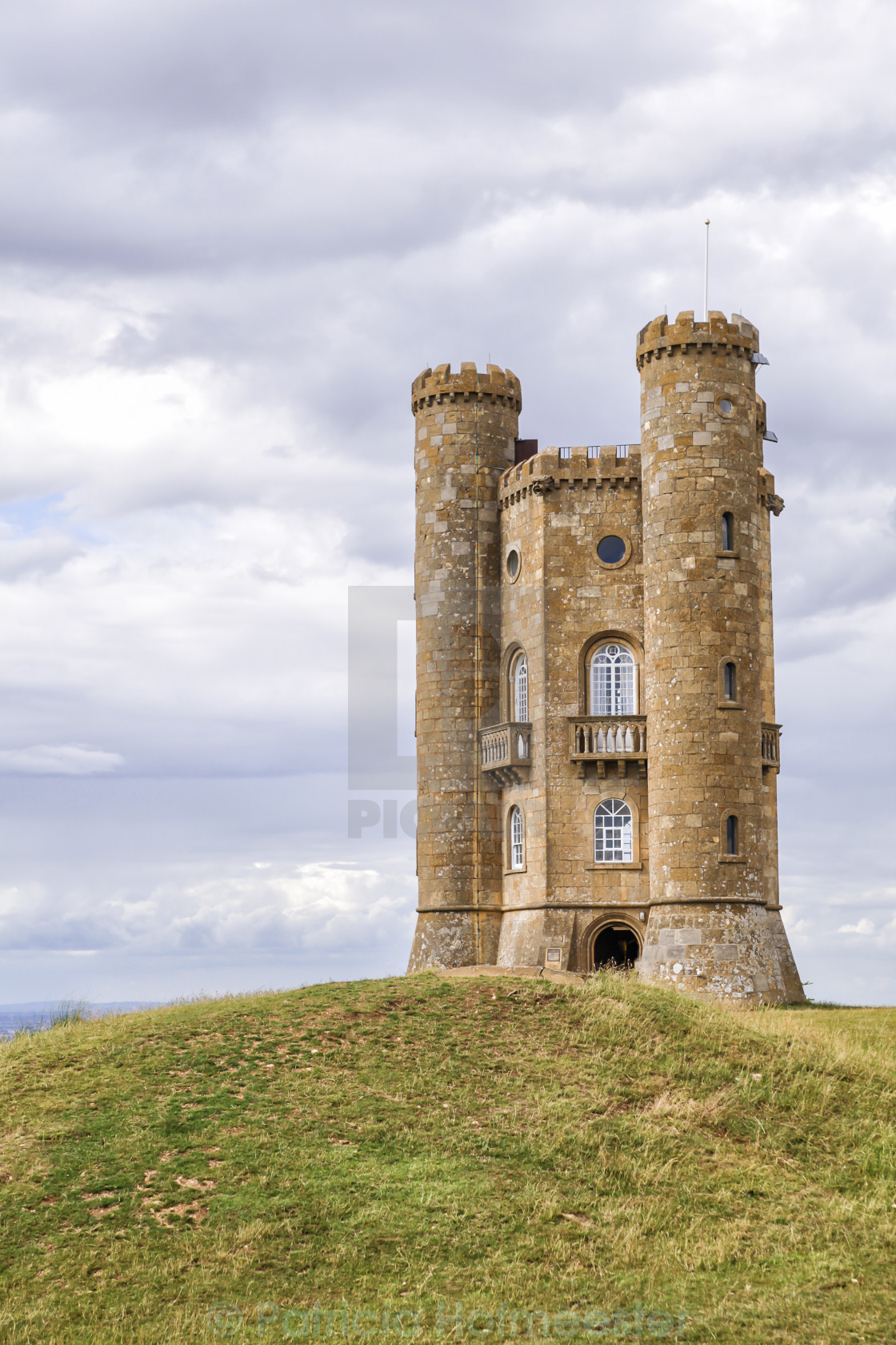 """""""Broadway tower"""" stock image"""