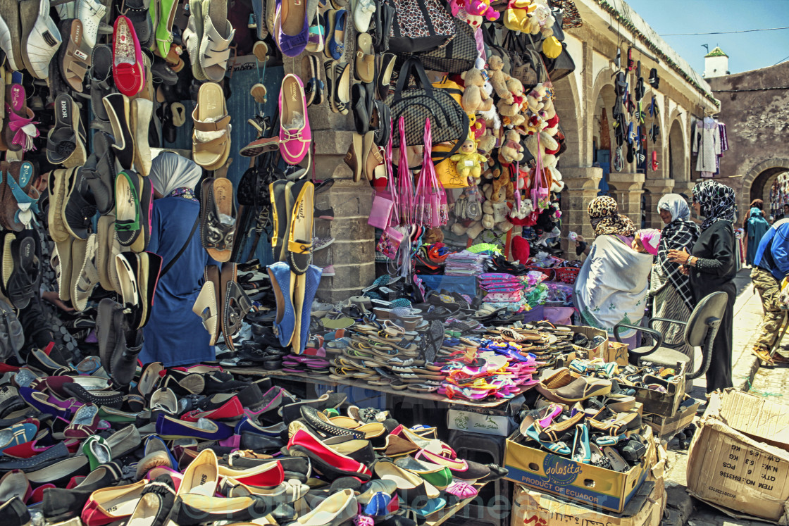 """""""At a Moroccan market"""" stock image"""