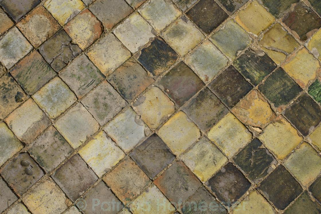Medieval ceramic floor tiles - License for £12.40 on Picfair