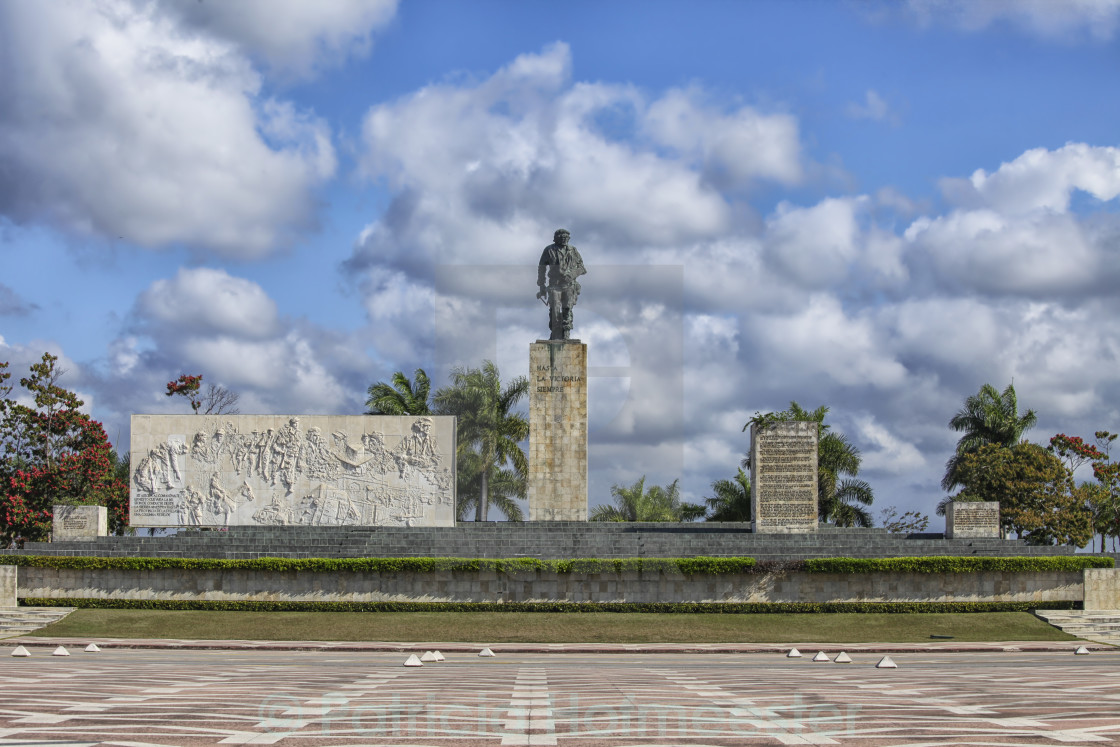 """Monument and Mausoleum Che Guevara"" stock image"
