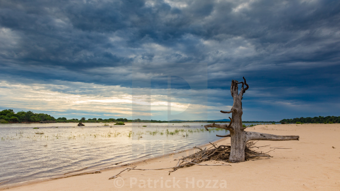 """The Rufiji Island"" stock image"