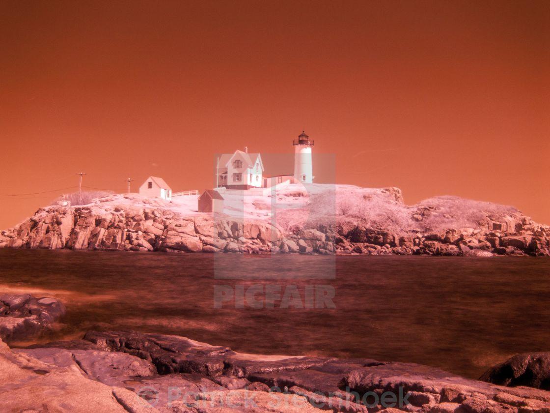 """""""Nuble Lighthouse"""" stock image"""