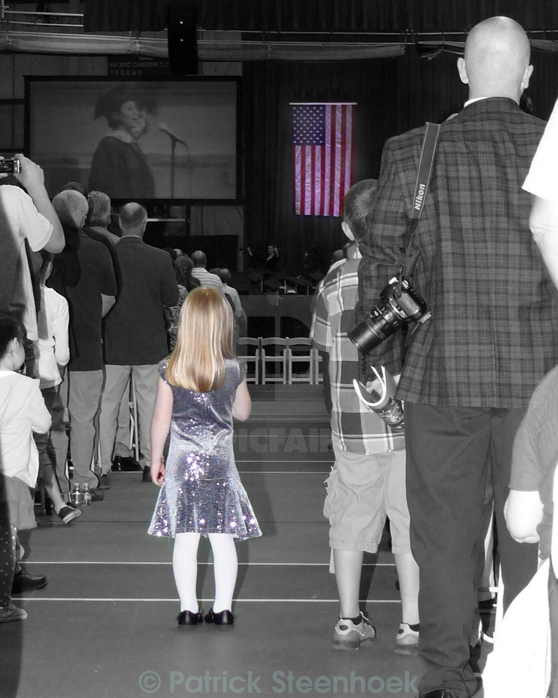 """""""Star Spangled Banner"""" stock image"""