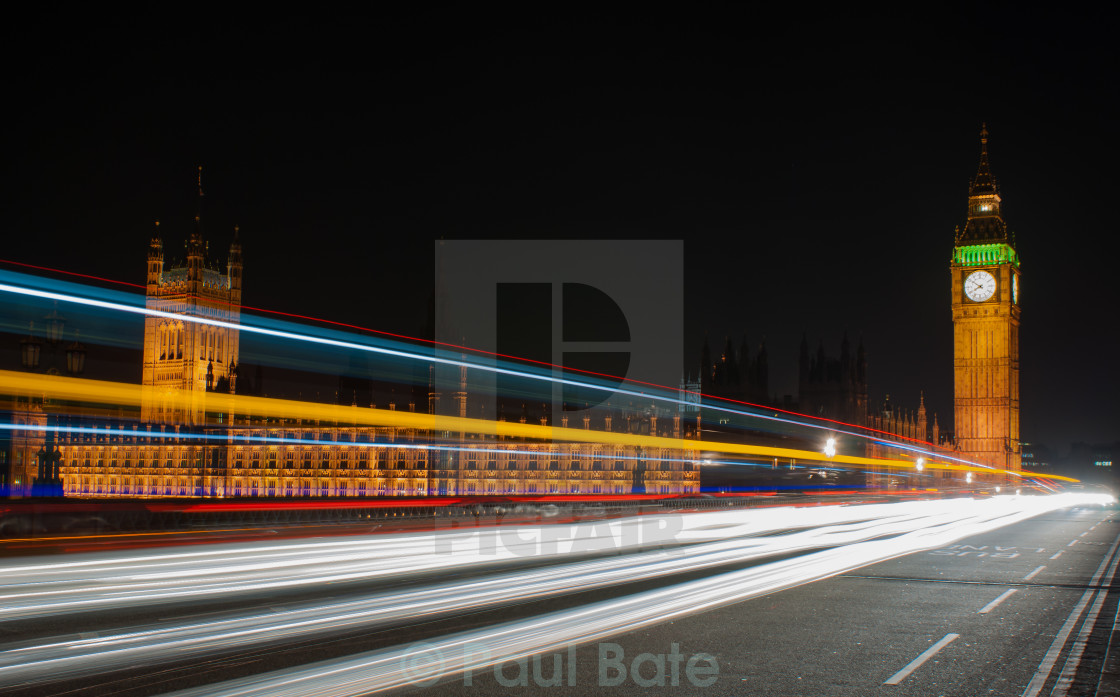 """Westminster Rush"" stock image"