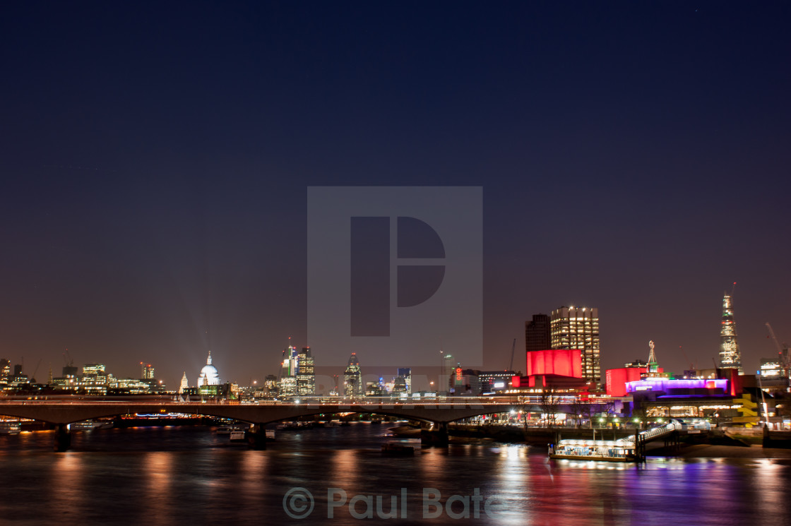 """Southbank"" stock image"