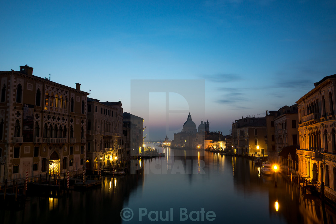 """Morning Venice"" stock image"