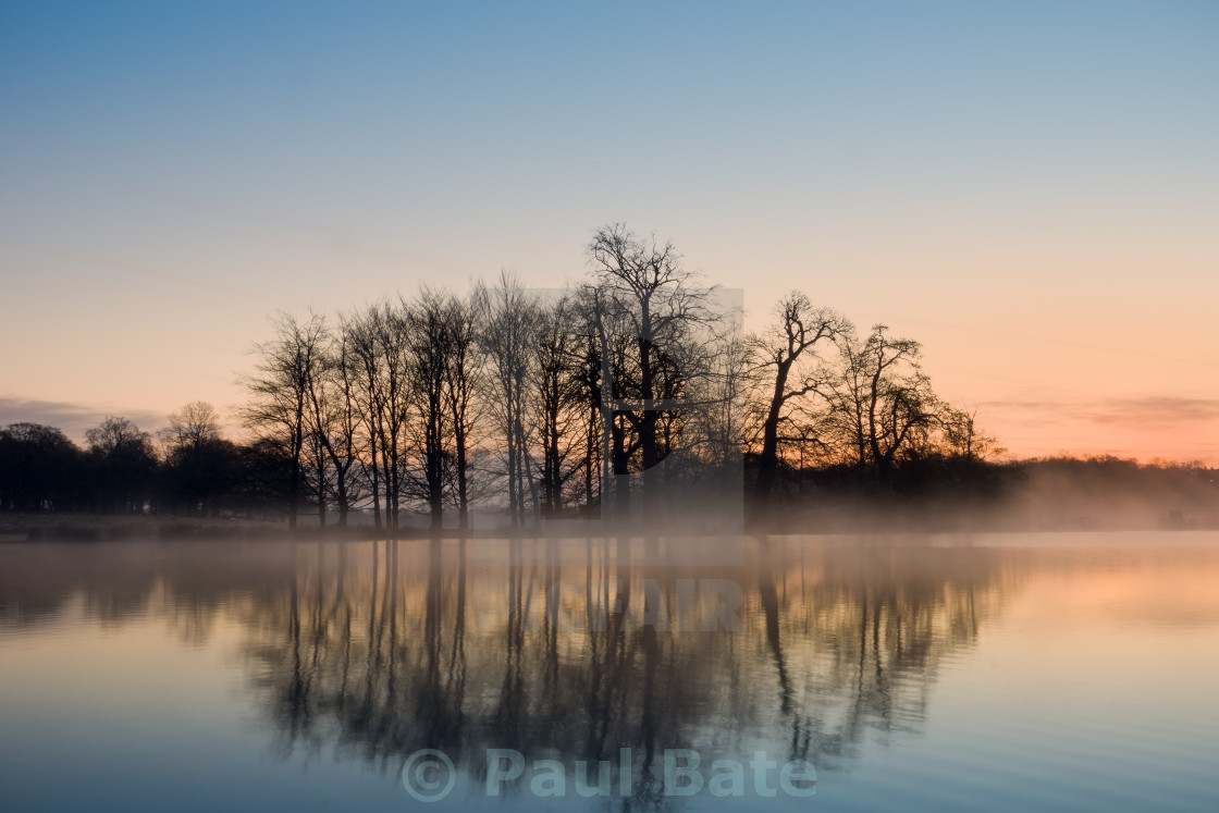 """A Winters Morning"" stock image"