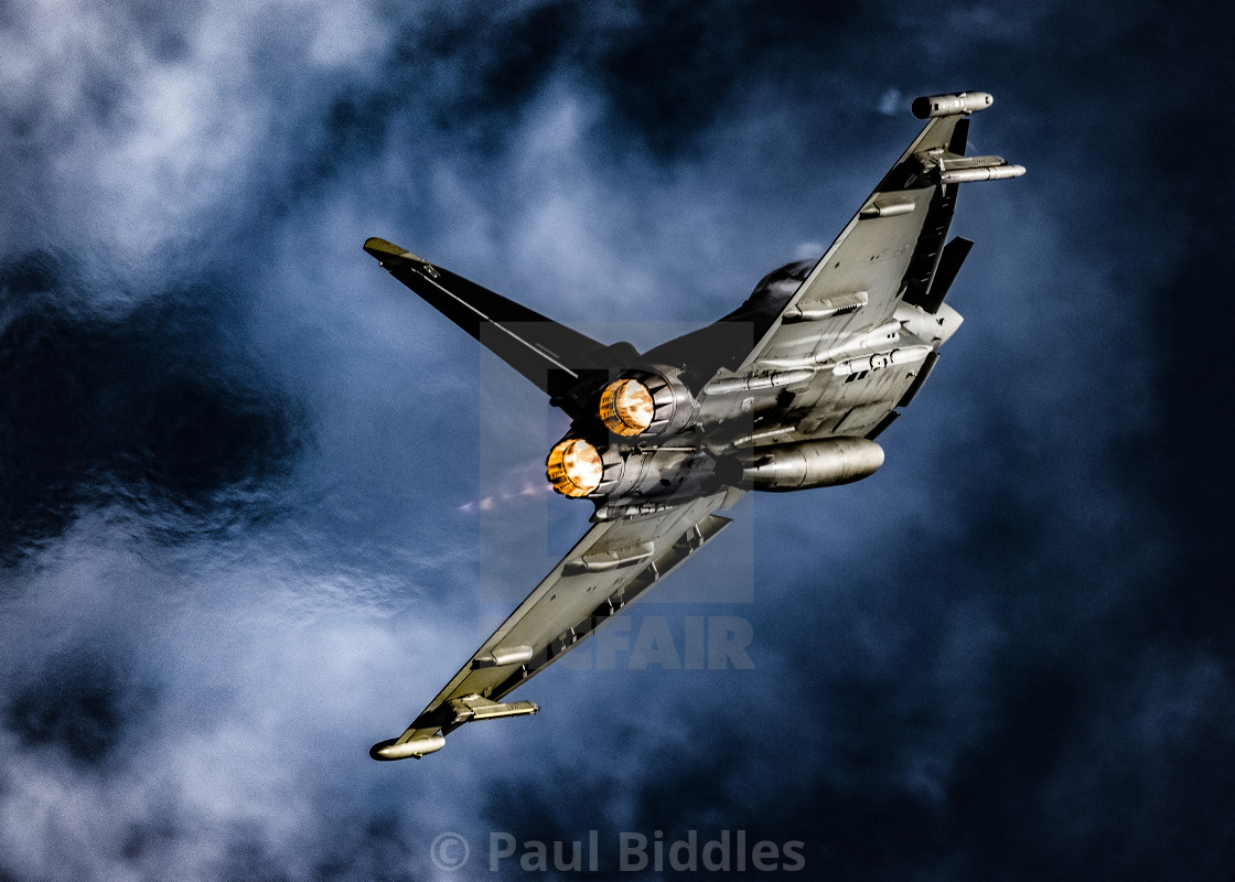 """Typhoon Force"" stock image"