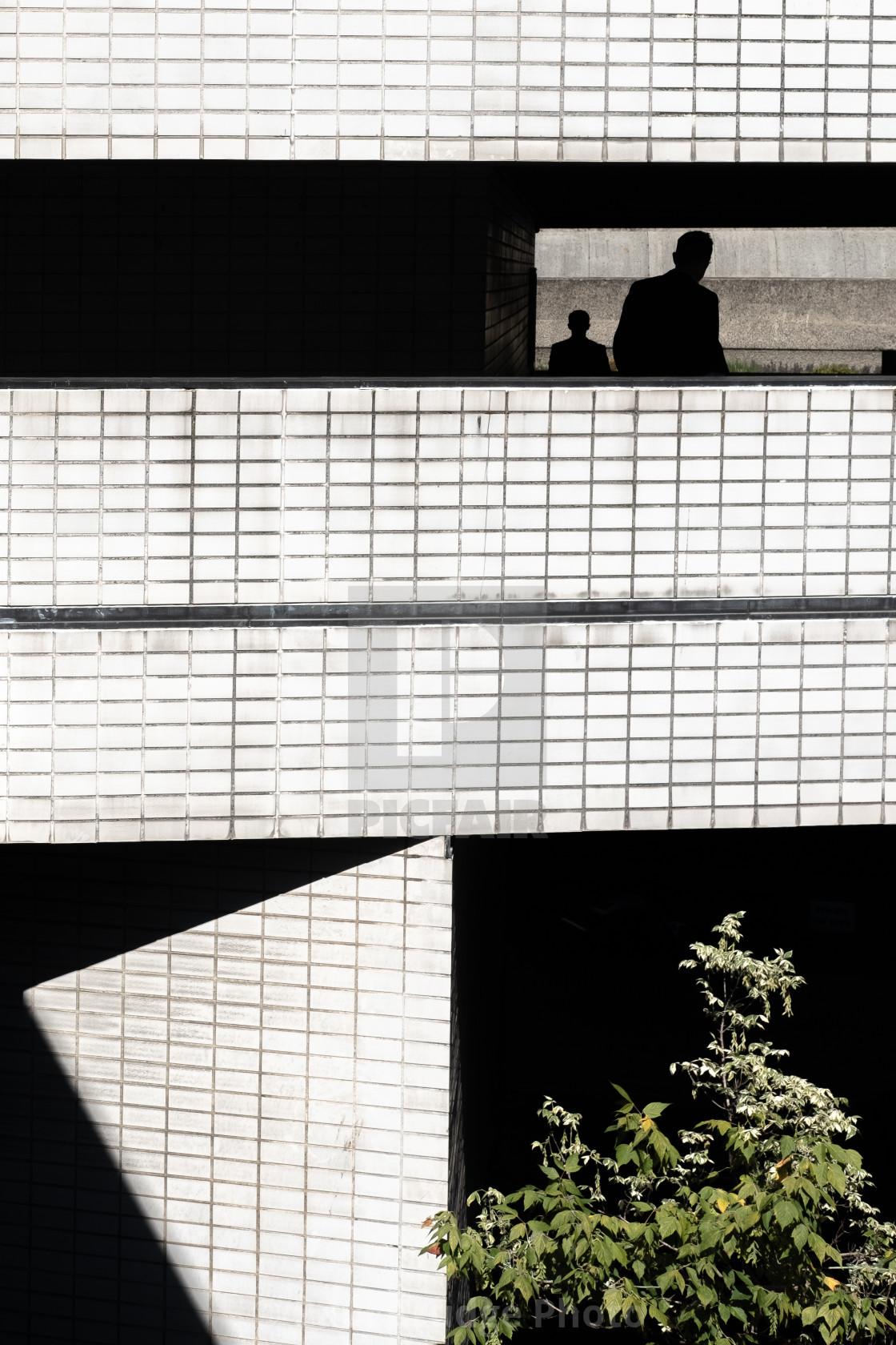 """Barbican Shadows 1"" stock image"