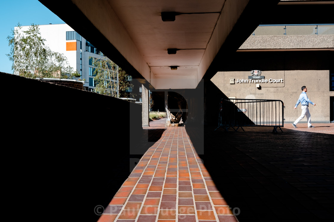 """Barbican Shadows 4"" stock image"