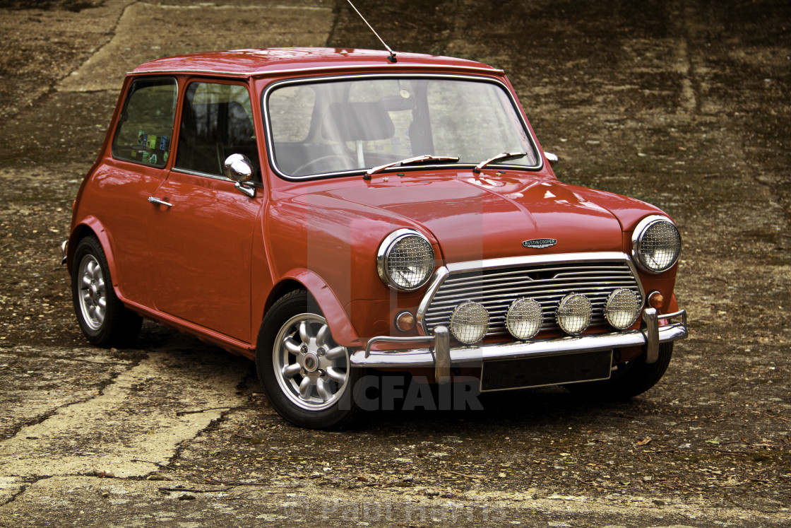 """Mini Cooper"" stock image"