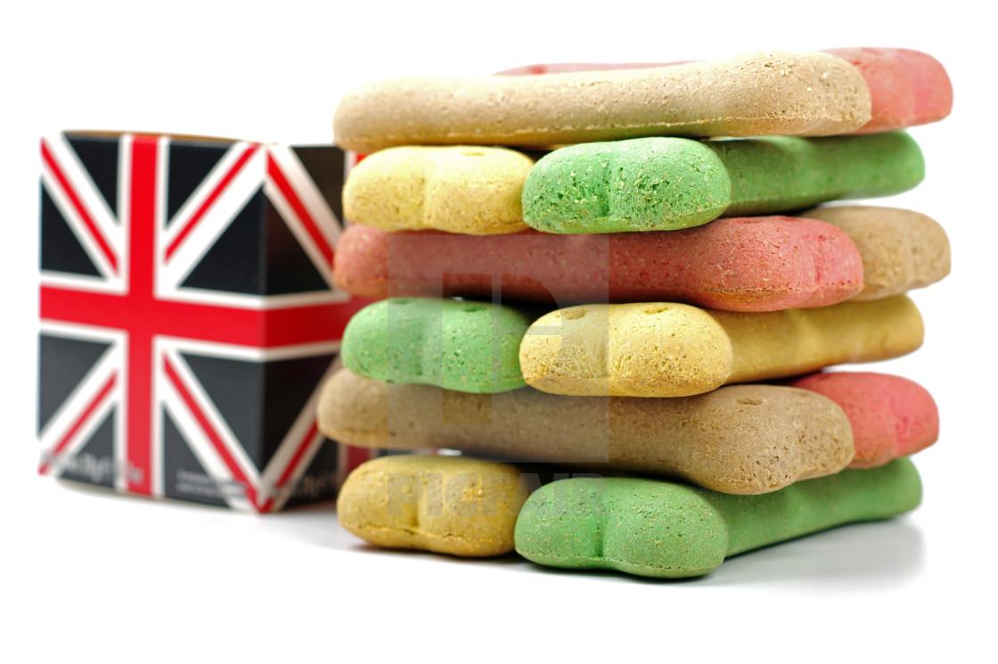 """british dog biscuits"" stock image"